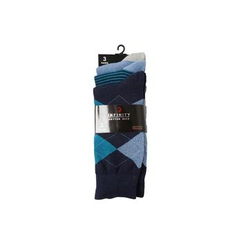 Men's black socks pack of 3 pairs