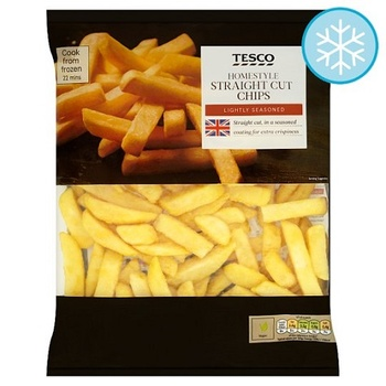 Tesco Homestyle Straight Cut Oven Chips 950g