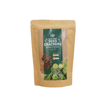 Chilly Date Seed & Spinach Crcker 50g