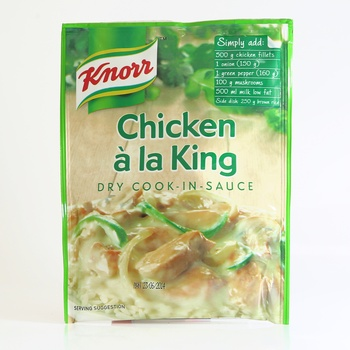 Knorr Chicken Dry Cook In Sauces 58g