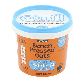 Oomf Bench Pressed Ginger Bread Oats 75g