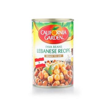 California Garden Medames Fava Beans Lebanese Recipe 450g