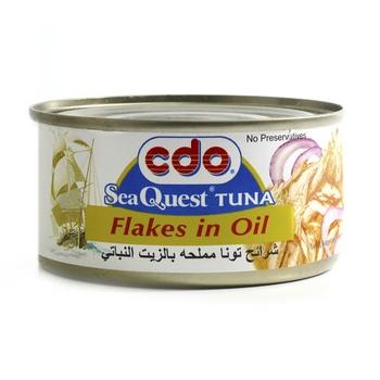 Cdo Seaquest Tuna Flakes In Oil 180g