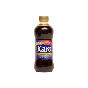 Karo blue dark corn syrup #010 16oz