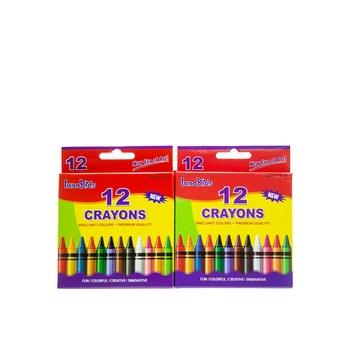 Innokids 12 Crayon  Set Of 2