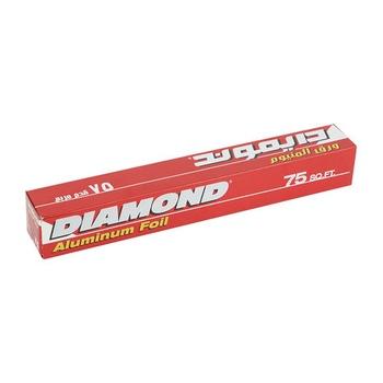 Diamond Aluminium Foil 22.8 X 30.4 75 Sq. Ft.