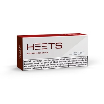 HEETS Bronze Selection Tobacco Sticks 200's