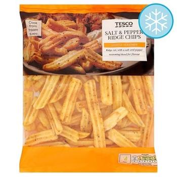 Tesco Salt & Pepper Crinkle Chips 750g