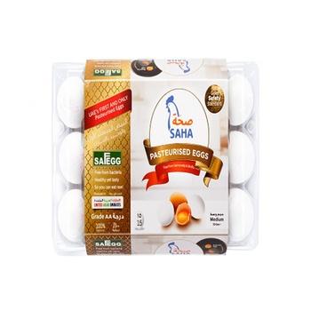 Saha Pasteurized Shell Eggs 15s