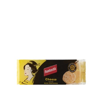 Fantastic Cheese Rice Crackers 100g