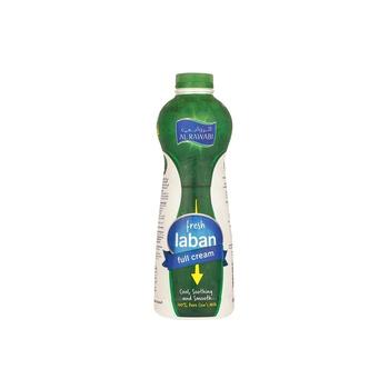 Al Rawabi Laban - Full Cream  1 Ltr