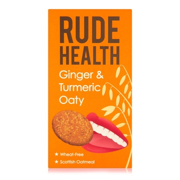 Rude Health Ginger & Turmeric Oaty 200g