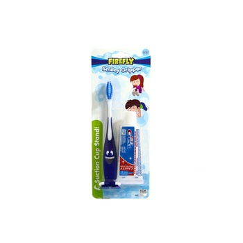 Doctor Fresh Kids Crest Firefly Toothbrush With Paste