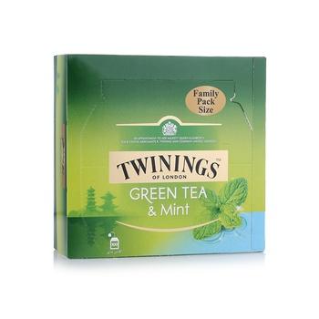 Twinings Green Tea & Mint 100 Bags