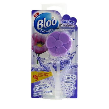 Bloo Flowers Toilet Air Freshener Wild Poppy 34g