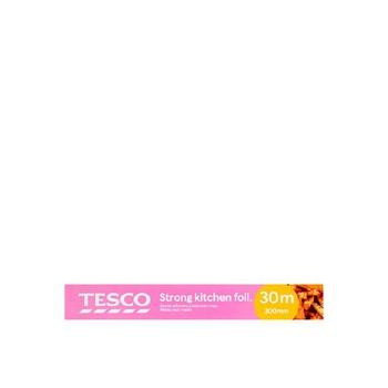 Tesco Strong Kitchen Foil 300mm X 30Mtr