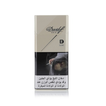 Davidoff Cigarette Gold Slims 20s