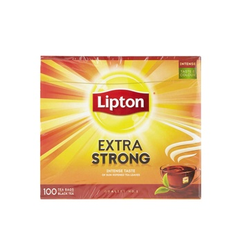 Lipton Tea Bag Extra Strong Black Tea 100's