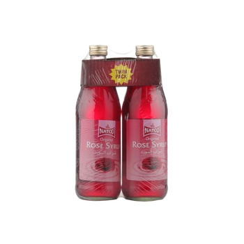 Natco Rose Syrup 725ml Pack of 2
