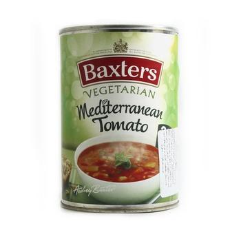 Baxters soup m editerranean tomato 400g