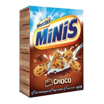 Weetabix Cereal Minibix Choco 450g