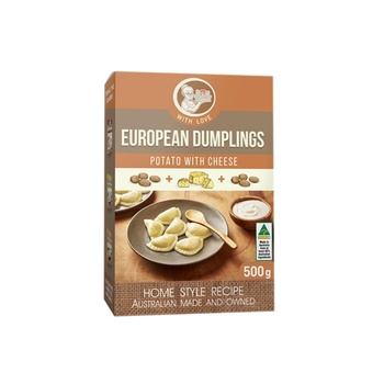From Granny European Dumplings - Potato With Cheese 500g