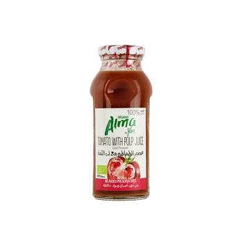 ALMA Juice Organic Tomato Juice Freshly Squeezed (Free of Sugar) 250ml