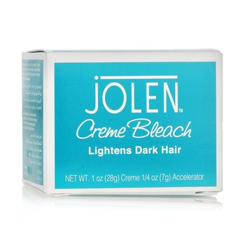Jolen Crème Bleach Lightens Dark Hair - 28g