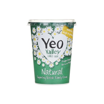 Yeo Valley Natural Organic Bio Lite Yoghurt 500g