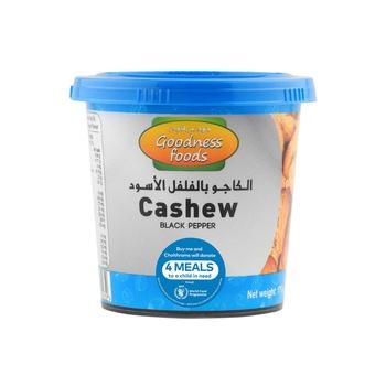 Goodness Foods Cashew Black Pepper Jar 175g