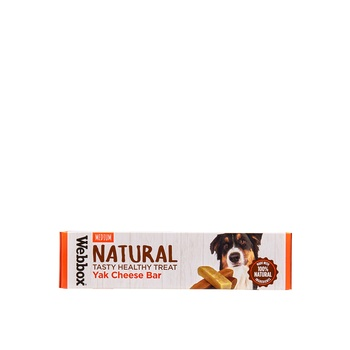 Webbox Natural Dog Treat Yak Bar 70g