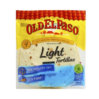 Old El Paso Tortilla Light 240g