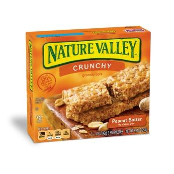 Betty Crocker Natural Valley Sweet & Salty Gran Bar Peanut 205g