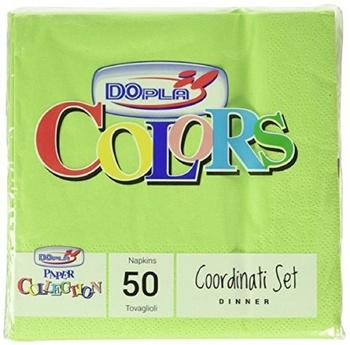 Dopla Disposables Color Line Napkins 50 sheets Green (18314)