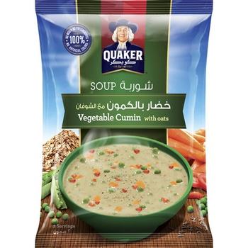 Quaker Soup Vegetable Cumin With Oats 66g