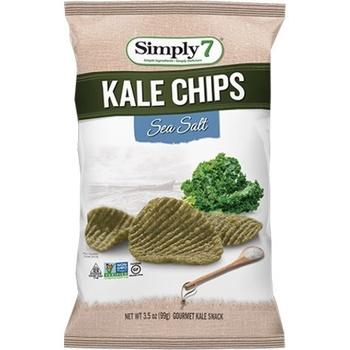 Simply7 Chips Kale Sea Salt 99g