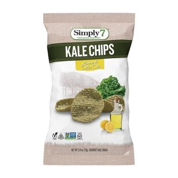 Simply7 Kale Chips Lemon&Olive 2.8Oz