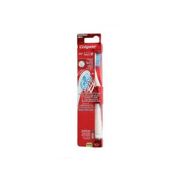 Colgate Optic White Manual Plus Toothbrush Medium