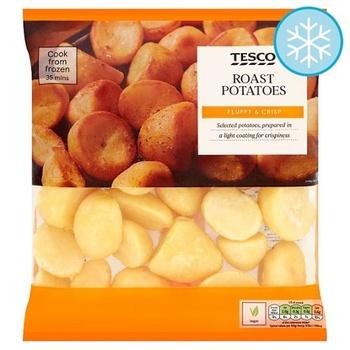 Tesco Roast Potatoes 800Gm