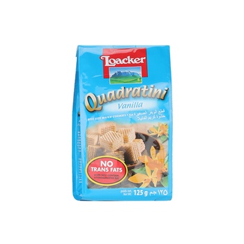 Loacker Quadratini Vanilla 125g