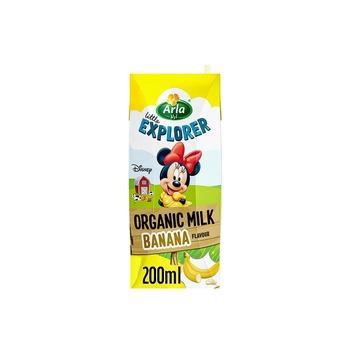 Arla Disney Organic Milk Banana 200g