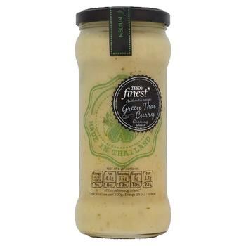 Tesco Finest Green Thai Curry Sauce 340g