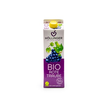 Hollinger Bio Organic Juice Red Grape 1 litre