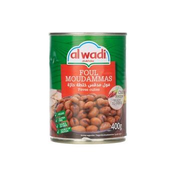 Al Wadi Foul Moundammas Hot Recipe Ready to Eat 400g