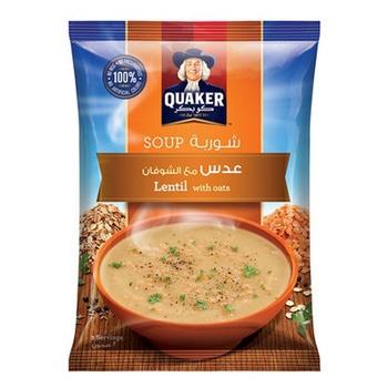 Quaker Soup Lentil With Oats 63g