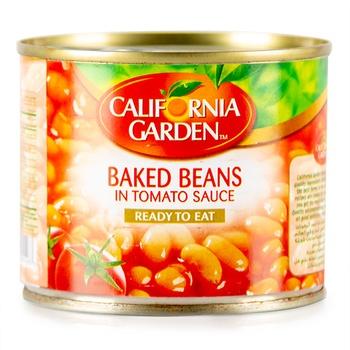 California Garden Baked Beans with Tomato Sauce 220g