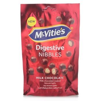 Mcvities Nibbles Milk Chocolate 120G