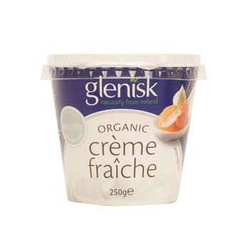 Glenisk Organic Crame Fraiche 250G