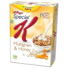 Kelloggs Cereal Special K Multi Grain Oat & Honey 380g