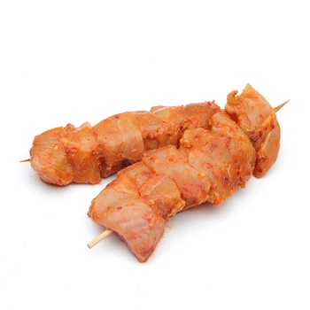 Chicken Hot & Spicy Kebab - defrost